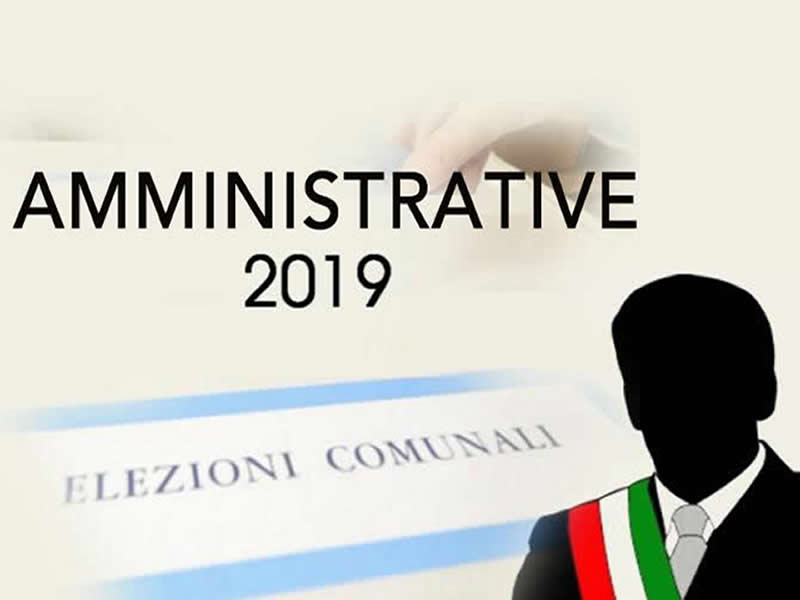 MANIFESTO AMMINISTRATIVE 2019