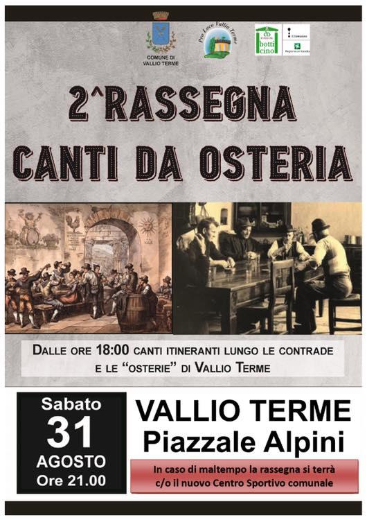 2^ RASSEGNA CANTI DA AOSTERIA