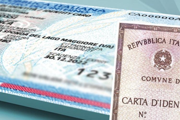 Carta di Identità prorogata la validità al 30 Aprile 2021